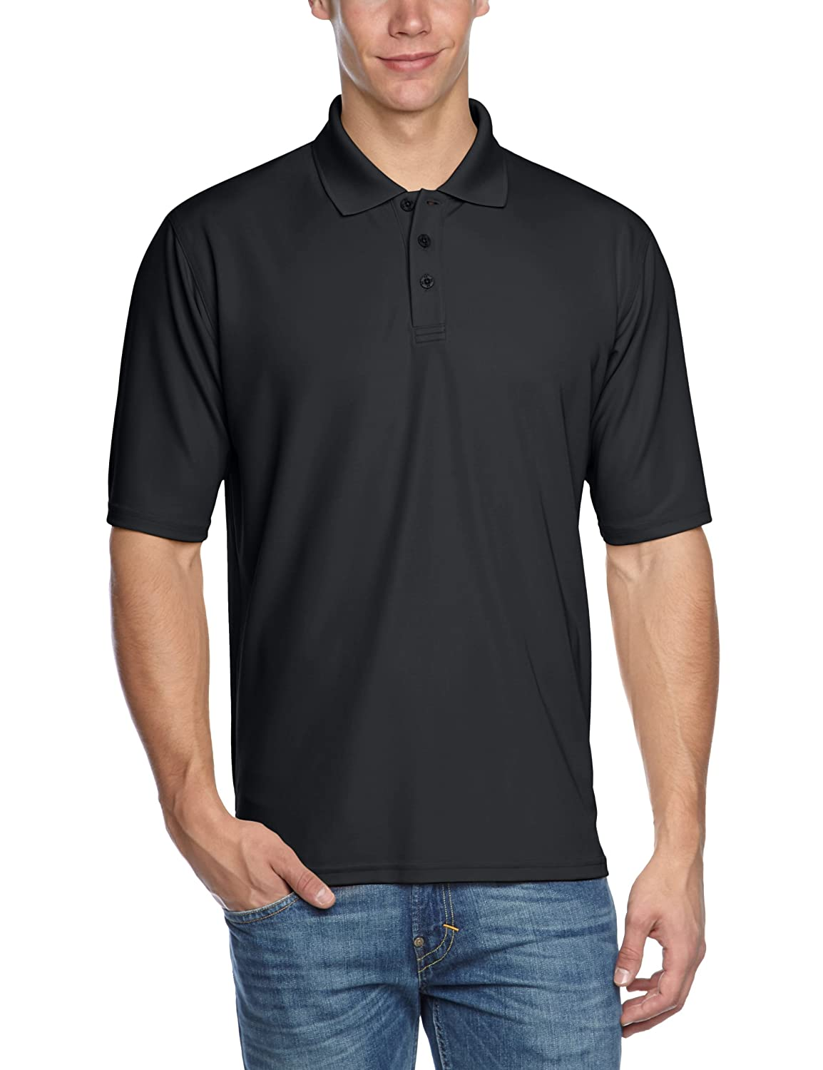 Under Armour Men's UA Tactical Range Polo Extra Large Black