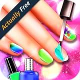 Fashion Princess Nail Salon Makeover - Girls Game