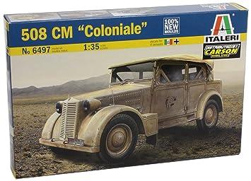 Italeri - I6497 - Maquette - Char D'assaut - Fiat 508 Cm Coloniale