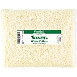 Stakich White Beeswax Pellets - Natural, Cosmetic Grade - 2 Pound (in 1 Pound Bags) (Tamaño: 2 lb (in 1 lb bags))