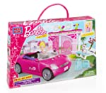 Mega Bloks Barbie Mega Bloks Barbie Build 'n Style Convertible, Multi Color