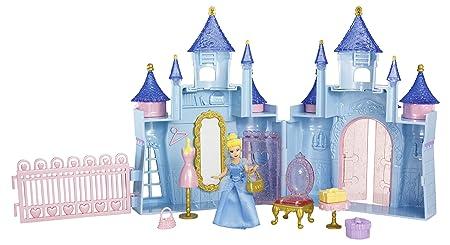 Disney Princesses - T4492 - Poupée et Mini poupée - Mini Château et Poupee - Cendrillon