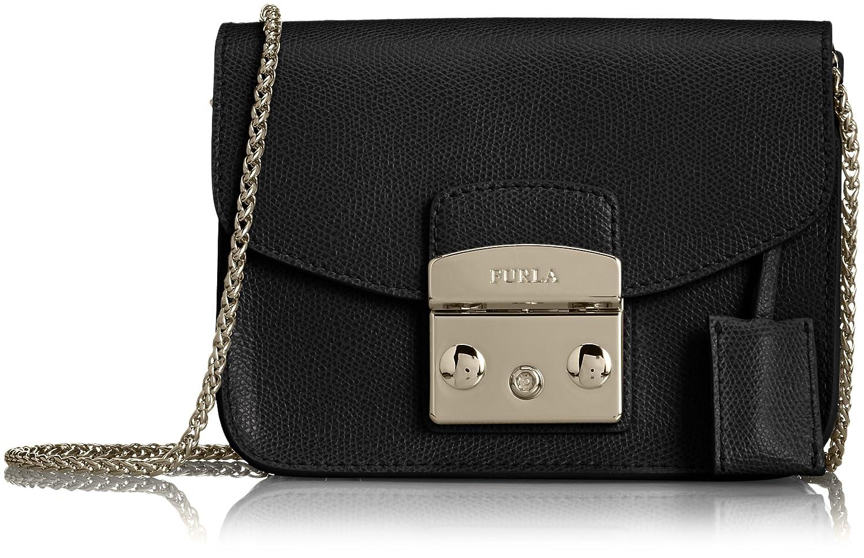 Amazon.co.jp: [フルラ] Furla メトロポリスミニショルダーバッグ BCU6 O6000747307 (オニキス(黒)): シューズ&バッグ:通販
