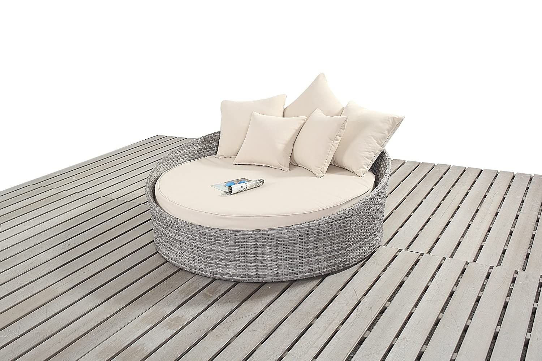Dallas Rustikal Garten Möbel klein Sofa