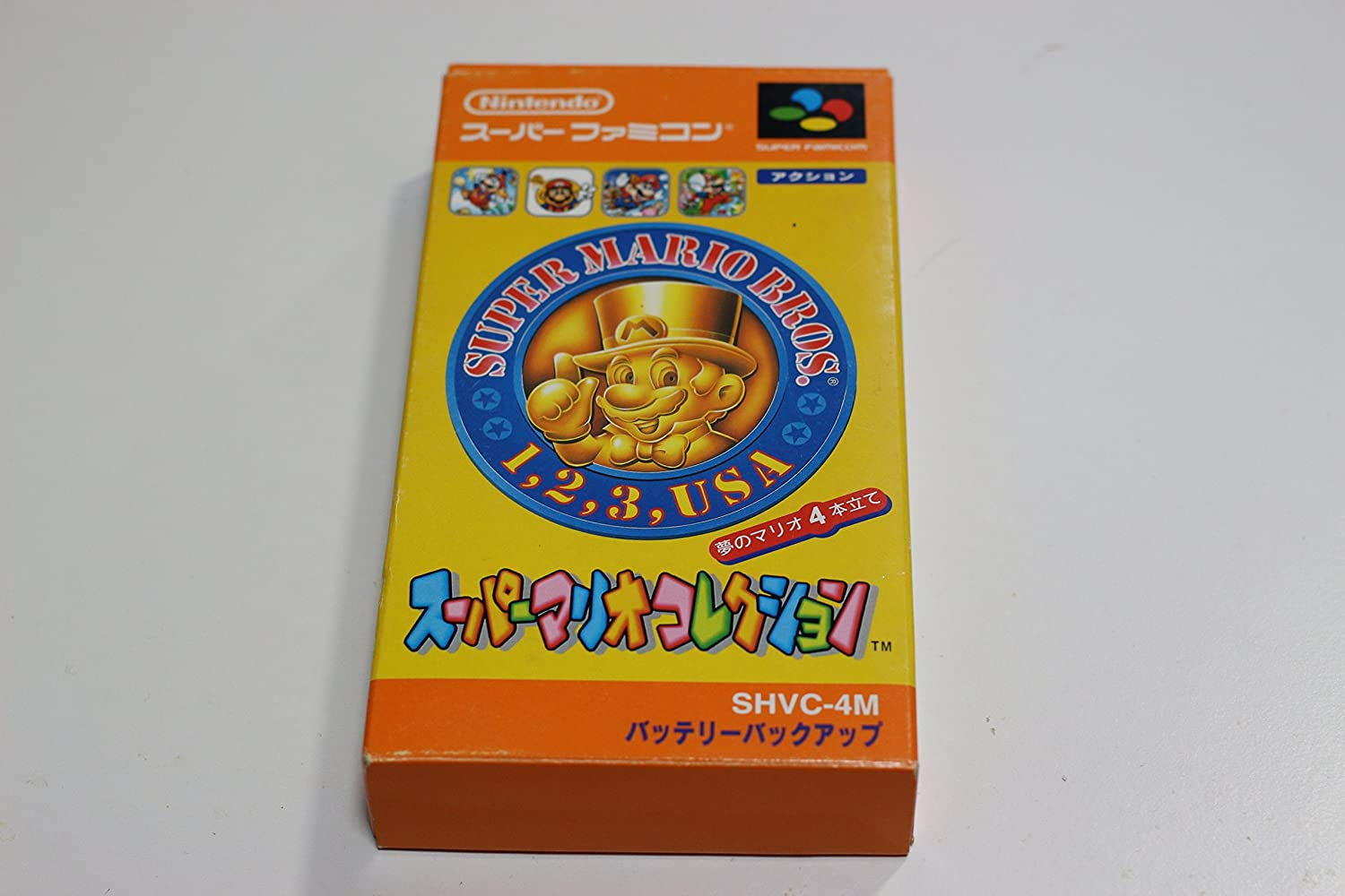 Super Mario Collection (Mario All-Stars) Super Famicom (Japanese Super NES Import) мульт культ фигурка super mario series1 bullet 6см