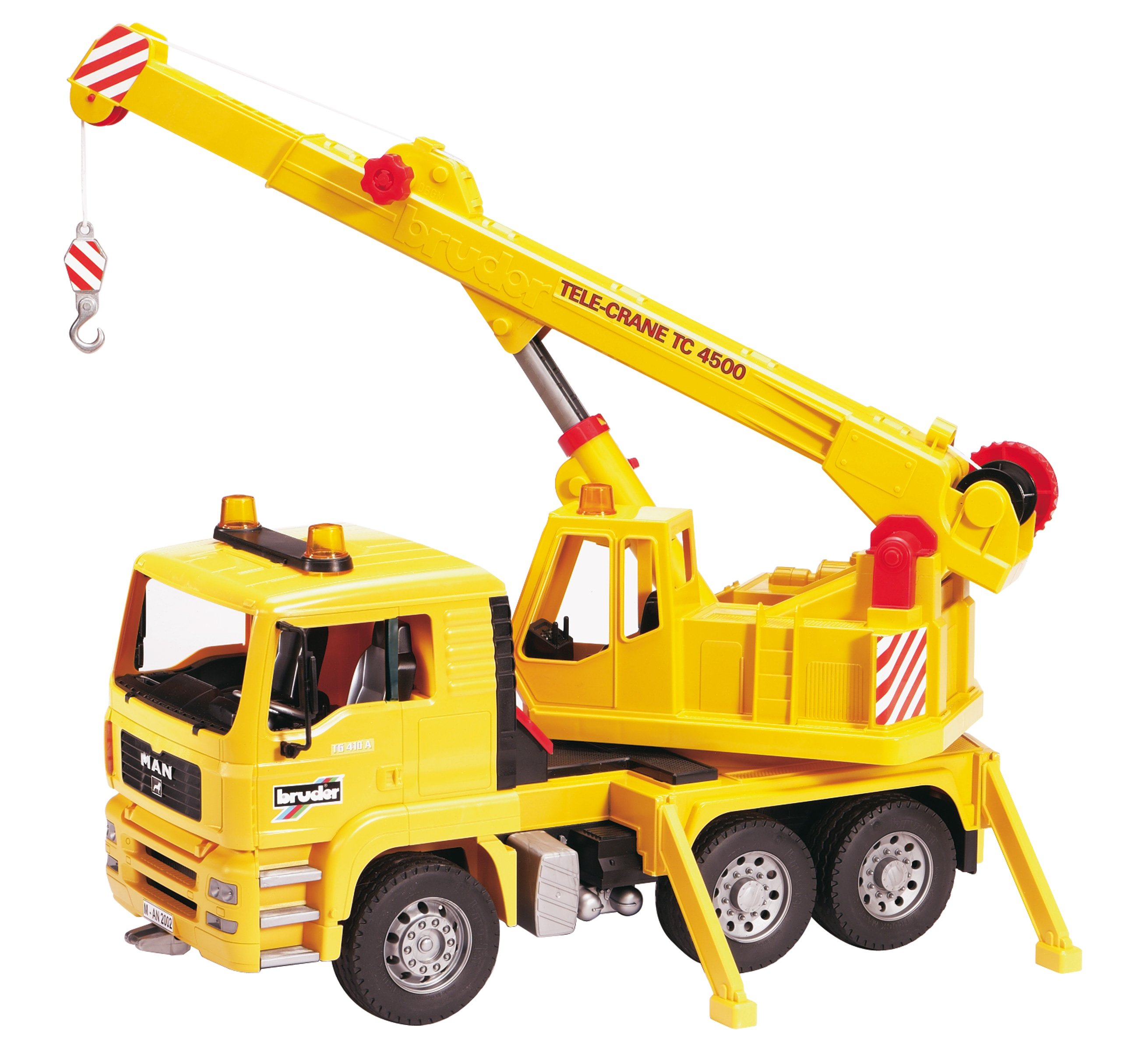 Bruder Construction Toys : Bruder man crane truck construction site vehicle tool toy