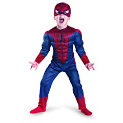 Disguise Costumes The Amazing Spider-man Movie Muscle Costume