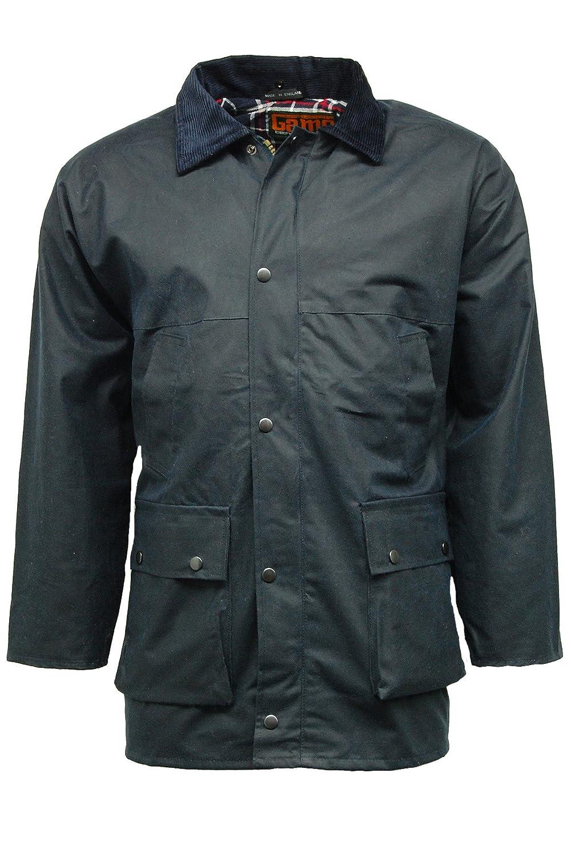 Neue gesteppt, gepolstert, Country Wax Rain Jacket günstig kaufen