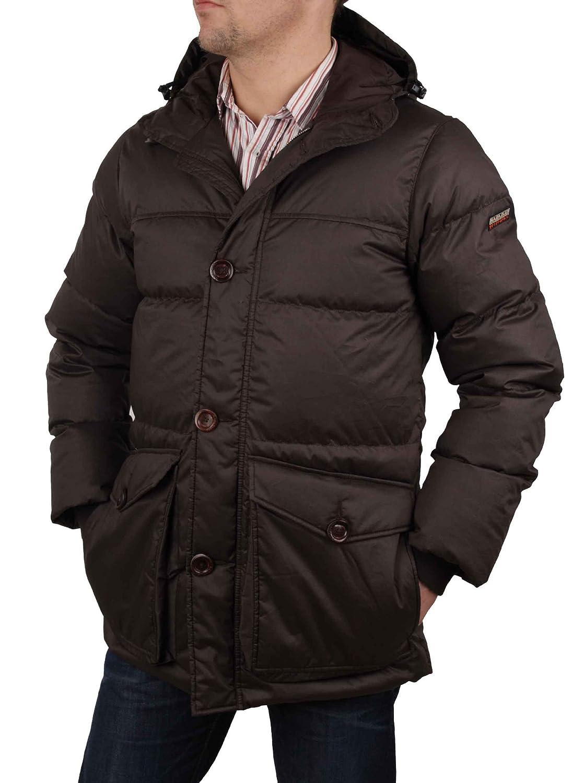 Napapijri Herren Winterjacke Daunen Jacke Parka Braun #RIF50 jetzt bestellen