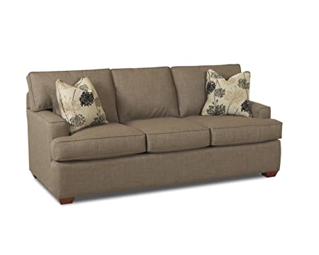 Klaussner Stone Pantego Sofa, 80 by 40 by 36-Inch
