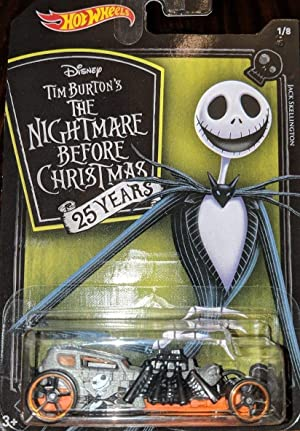 Hot Wheels 2018 Nightmare Before Christmas 8 Car Bundle