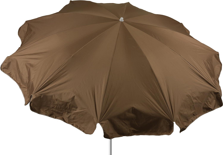beo Sonnenschirme wasserabweisender, rund, Durchmesser 240 cm, sand günstig kaufen