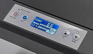 Ausranvik 48-Quart portable car refrigerator car fridge