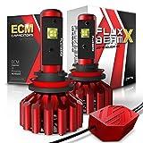 OPT7 FluxBeam X H11 H8 H9 LED Fog Light Bulbs - 8,400Lm 6000K Daytime White - All Bulb Sizes - 2 Year Warranty (Tamaño: H11 (H8, H9) Fog Lights)