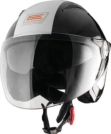 Falco retrò autres casques origine casque de vélo noir/blanc brillant
