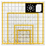 Magicfly Acrylic Quilting Ruler (4.5