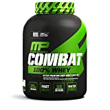 MusclePharm Combat 100% Whey – 25Gs of a Ultra-Premium, Gluten-Free, Low Fat Blend of Fast-Digesting Whey Protein for Performance, Recovery, and Muscle Building, Vanilla, 5 Pound, 73 Servings (Color: White, Tamaño: 5 lb.)