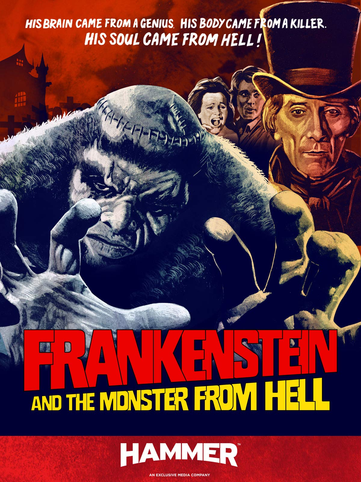 Frankenstein and the Monster from Hell on Amazon Prime Video UK