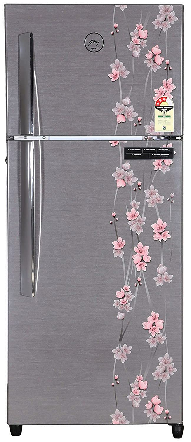 Godrej RT EON 241 P 3.4 Frost-free Double-door Refrigerator (241 Ltrs, 3 Star Rating, Silver Meadow) By Amazon @ Rs.21,900