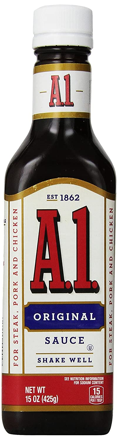 A-1 STEAK SAUCE 15 OZ(Pack of1)