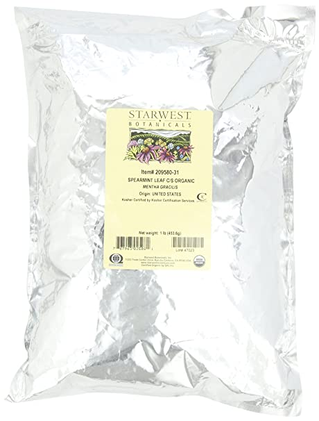 Отзывы Starwest Botanicals Organic Spearmint Leaf C/s