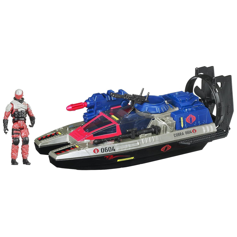 G.I. Joe Cobra Fangboat with Torpedo Launcher & Swamp Viper Figur – Retaliation – von Hasbro günstig bestellen