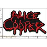 20 Pcs Embroidered Iron on patches Alice Cooper Band Music AP056uA