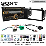 Volunteer Audio Sony WX-920BT Double Din Radio Install Kit with Bluetooth, Pandora, and SiriusXM Ready For 2005-2007 Volvo S60, V70, XC70