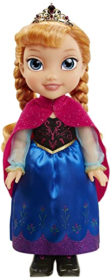 La Reine des  Neiges - 86867-TT - Poupée  Anna