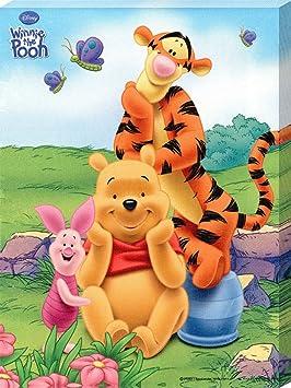 Winnie l 39 ourson tigrou tigrou et porcinet au soleil - Rideau winnie l ourson castorama ...