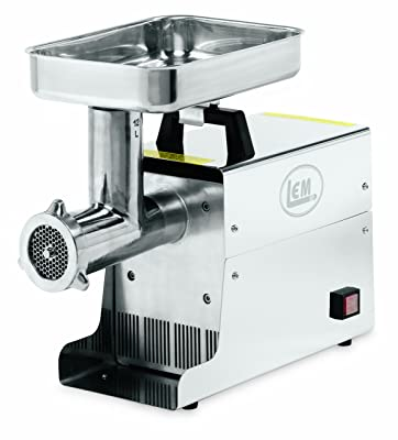 LEM-Products-.75-HP-Stainless-Steel-Electric-Meat-Grinder