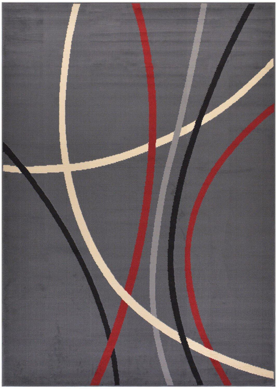 ^ Modela ollection Stripes bstract ontemporary Modern rea ug ...