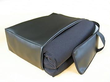 auflage f r business class sitze aus 100 viscoschaum incl ledertasche us231. Black Bedroom Furniture Sets. Home Design Ideas