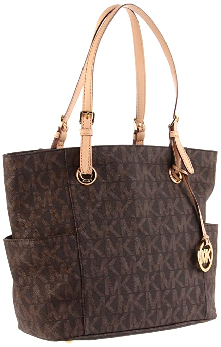 MICHAEL Michael Kors Signature Tote, Brown, one size