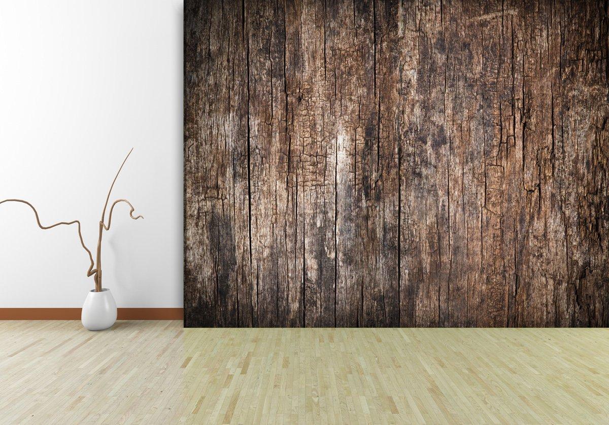 Fototapete Old Wood in verschiedenen Größen  als Papiertapete oder Vliestapete wählbar  PVC frei, geruchloser, umweltfreundlicher Latexdruck ohne Lösemittel  Motivtapete Postertapete Bildtapete Wall Mural von Trendwände  BaumarktKritiken und weitere Informationen
