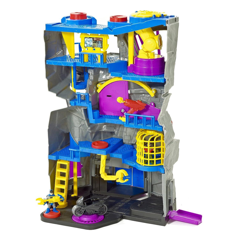 Fisher Price Batman Toys : Fisher price imaginext dc super friends batcave batman