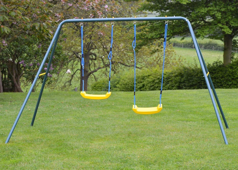 Kinder-Schaukel für den Garten – 2 Sitze günstig bestellen