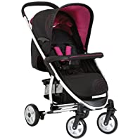 hauck Malibu All-in-One Travel System Caviar/Berry