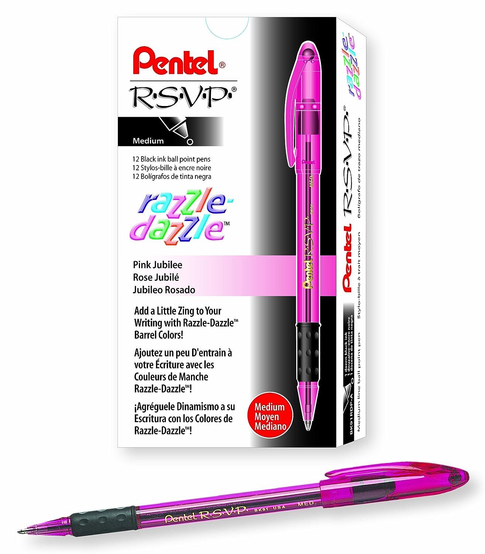 Pentel R.S.V.P. Razzle-Dazzle Ballpoint Pen pentel r s v p razzle dazzle ballpoint pen