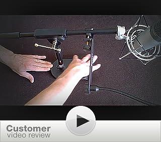 Amazon Com Proline Ms112 Desk Boom Mic Stand Musical