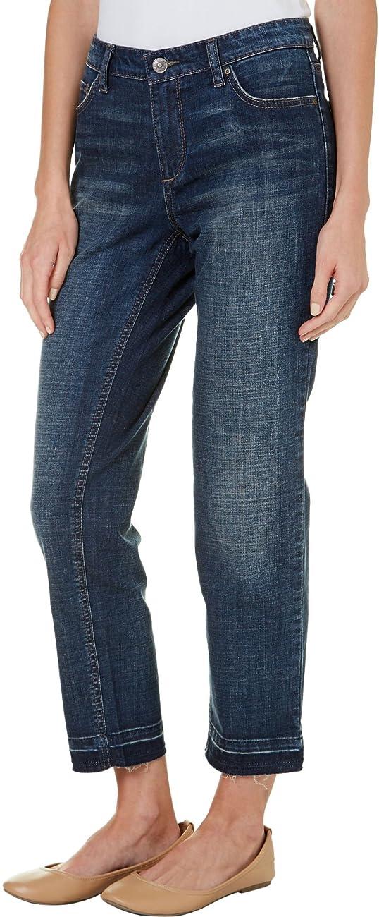 Vintage America Womens Light Wash Boyfriend Jeans 0