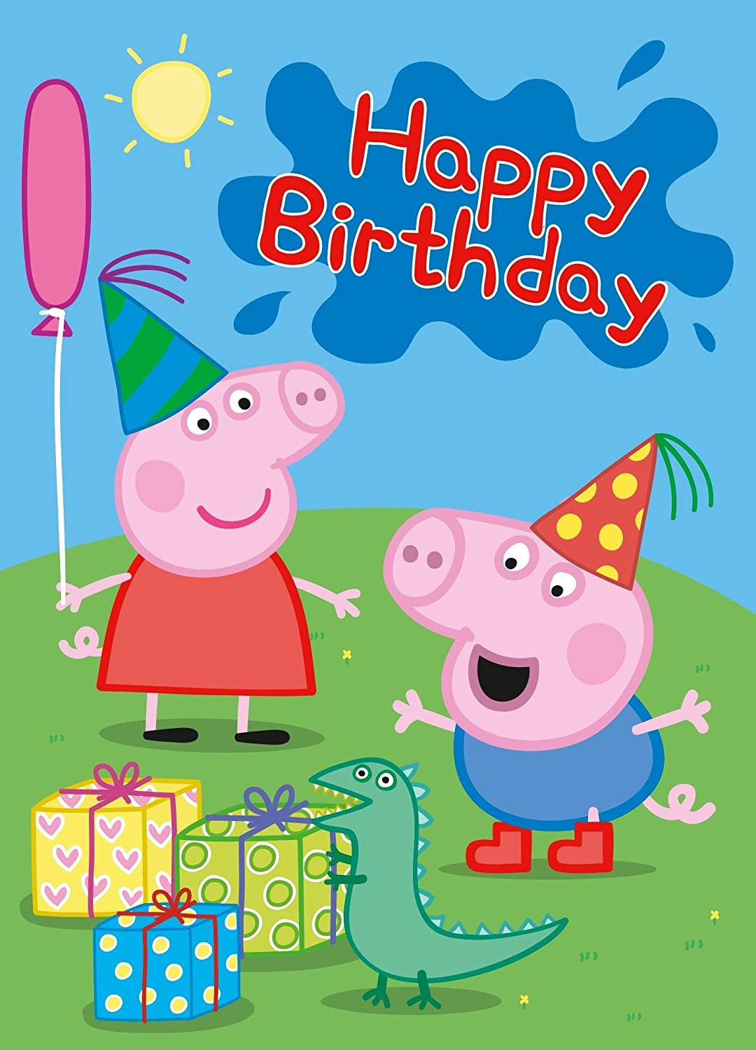 Happy Birthday Keef FPS247 First Person Shooter Forum – Peppa Pig Birthday Card