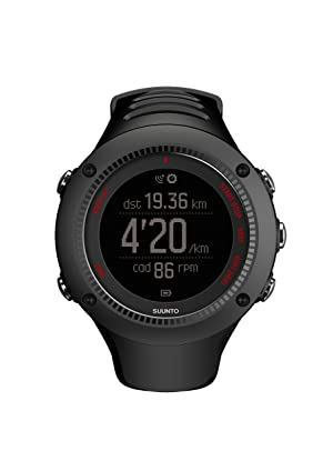 Suunto Ambit3 Run HR Monitor Running GPS Unit, Black