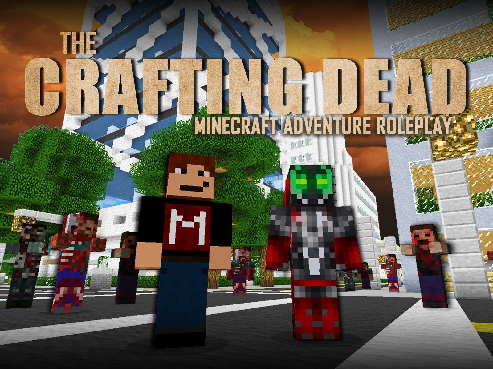 Clip: The Crafting Dead (Minecraft Adventure Roleplay)