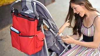 Skip Hop Studio Diaper Bag Tote Bag, Pewter Dot (Discontinued by Manufacturer)