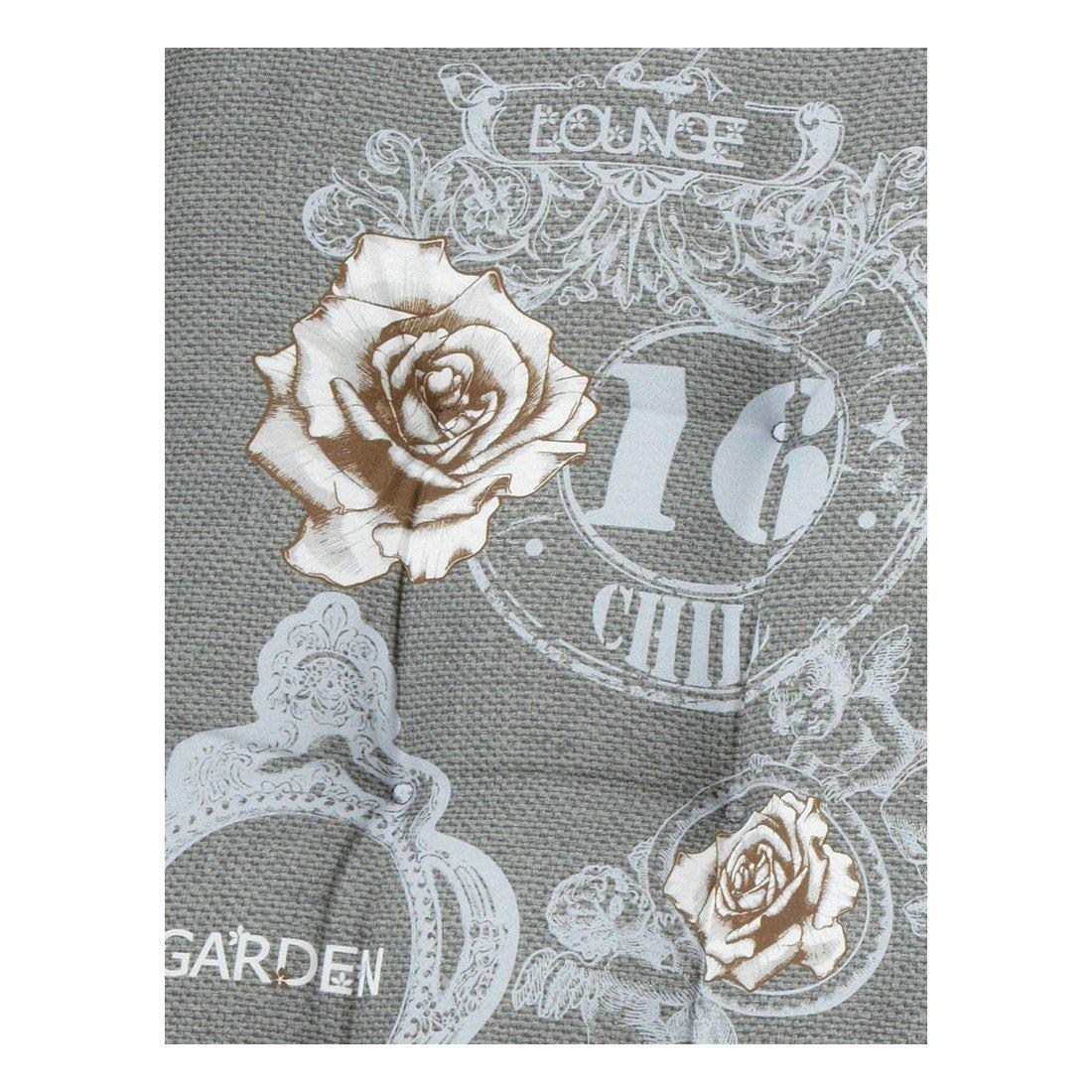 Madison 7FLORF290 Auflage Duck grey Florence, 75% Baumwolle 25% Polyester, 47 x 47 cm online bestellen