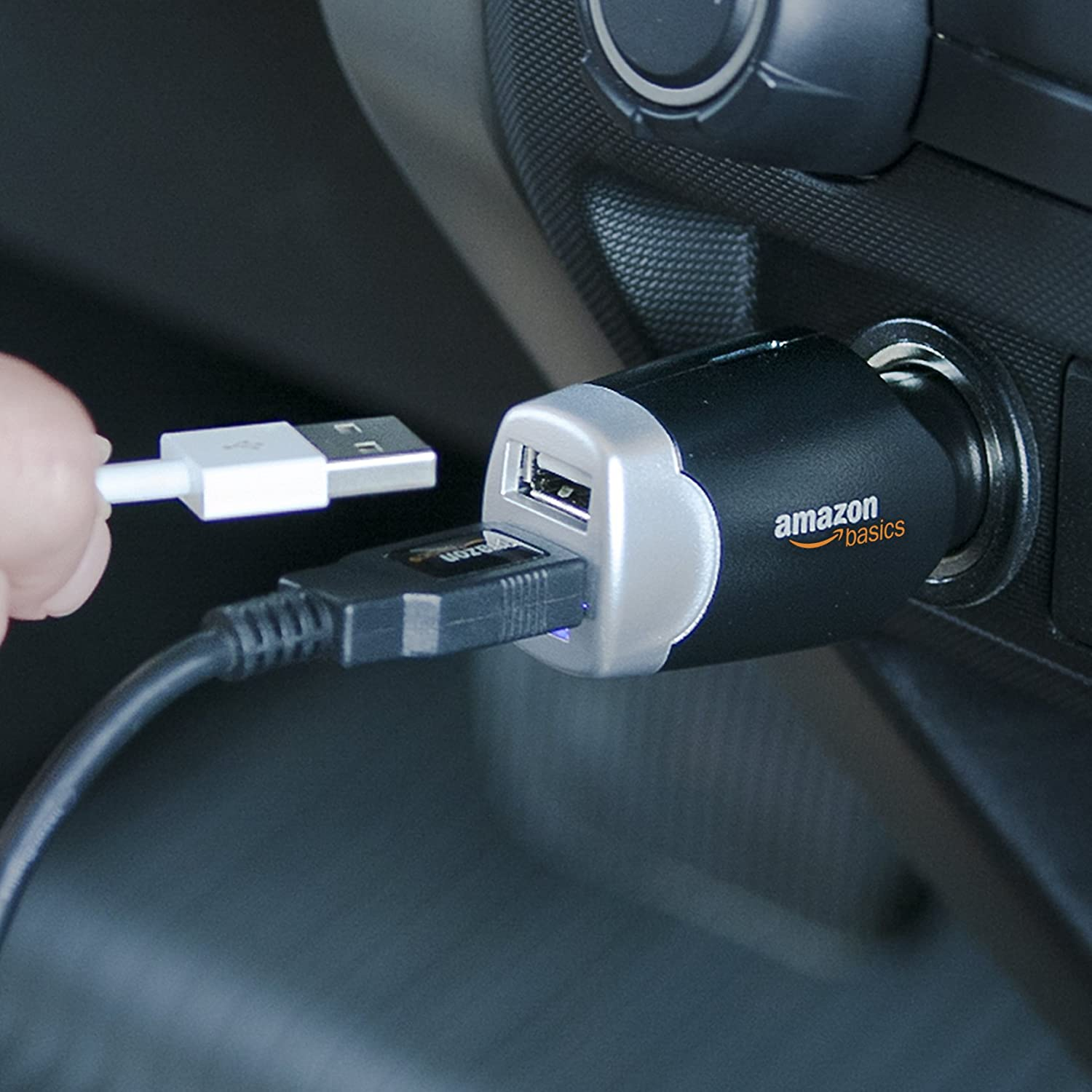 Amazon Basics 4.0 Amp Dual USB Car Charger Price In