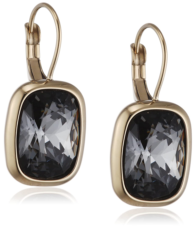 Dyrberg/Kern Damen-Ohrhänger 15/02 Rina Sg Grey teilvergoldet Kristall grau 1.16 cm – 338239 schenken