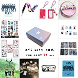 BTS Gifts Set for Army 97 pcs Bantan Boys World Box Include Postcards Stickers,Gift Case for Daughter Granddaughter (BTS-Box) (Color: Bts-box)