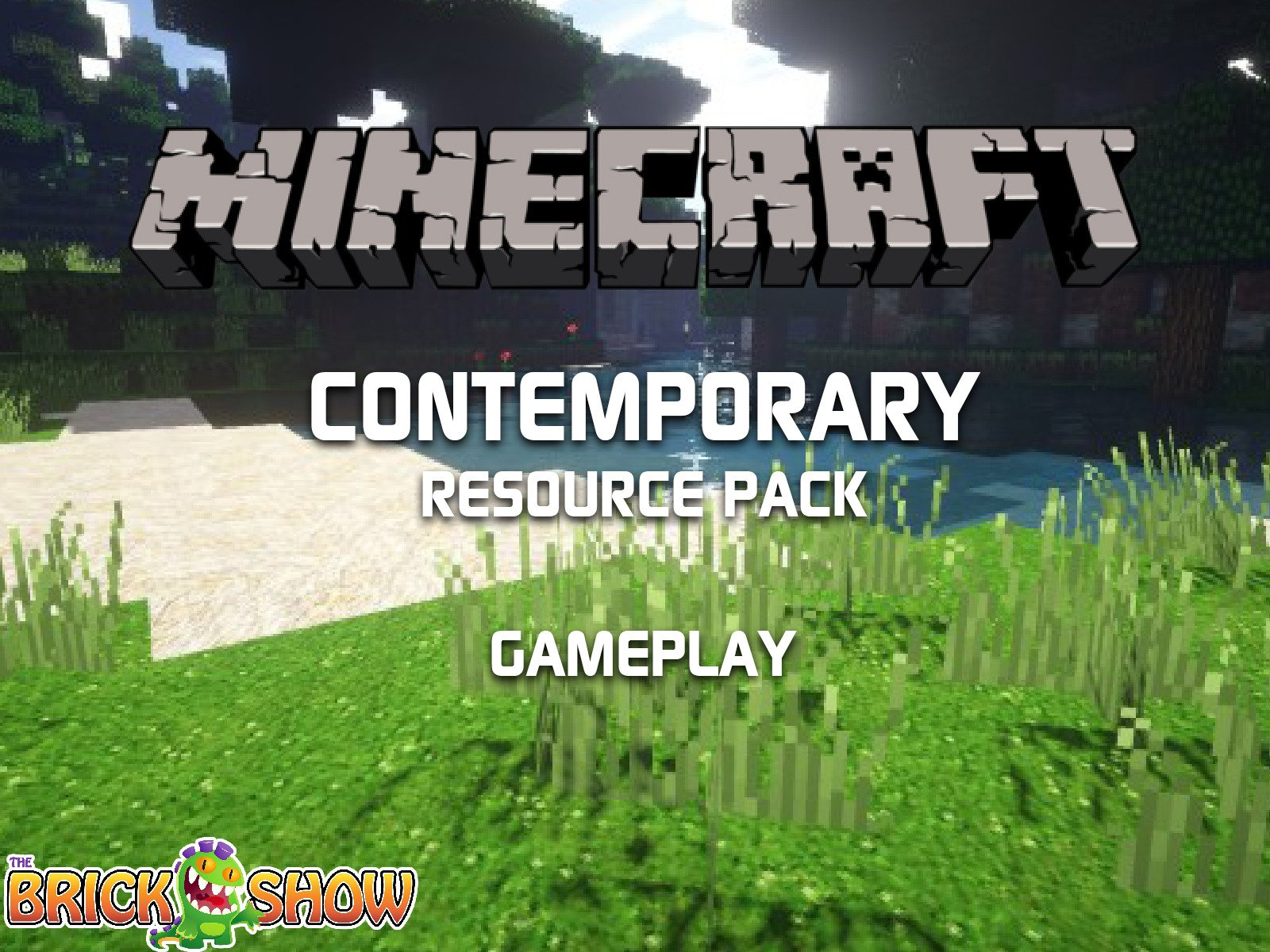 Clip: Minecraft Contemporary Resource Pack Gameplay